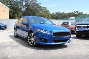 2015 Ford Falcon FG X XR6 Blue 6 Speed Sports Automatic Sedan Cardiff Lake Macquarie Area Preview