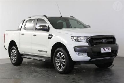 2015 Ford Ranger PX MkII Wildtrak 3.2 (4x4) Cool White 6 Speed Automatic Dual Cab Pick-up Eagle Farm Brisbane North East Preview