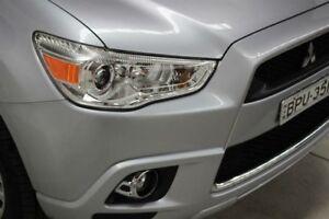2010 Mitsubishi ASX XA MY11 Aspire Silver 6 Speed Constant Variable Wagon