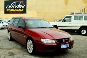 2006 Holden Commodore VZ MY06 Executive Red 4 Speed Automatic Sedan Rockingham Rockingham Area Preview