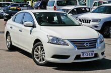 2013 Nissan Pulsar B17 ST White 1 Speed Constant Variable Sedan Myaree Melville Area Preview
