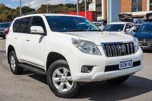 2013 Toyota Landcruiser Prado GRJ150R GXL White 5 Speed Sports Automatic Wagon Myaree Melville Area Preview
