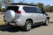 2013 Toyota Landcruiser Prado KDJ150R GXL Silver Pearl 5 Speed Sports Automatic Wagon Clarkson Wanneroo Area Preview