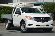 2015 Mazda BT-50 UP0YD1 XT 4x2 White 6 Speed Manual Cab Chassis Acacia Ridge Brisbane South West Preview
