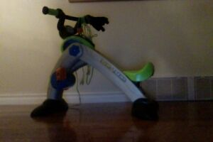 Super Cycle- you peddle and can play vidio games +x box