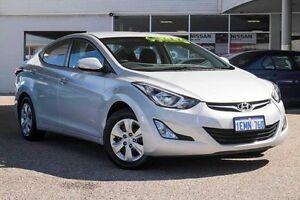 2014 Hyundai Elantra MD3 Active Silver 6 Speed Sports Automatic Sedan Osborne Park Stirling Area Preview