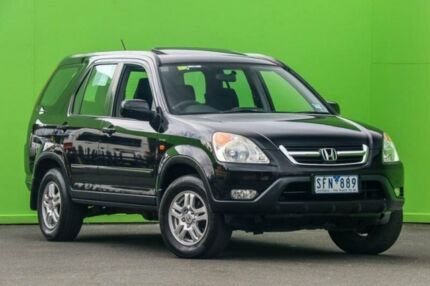 2003 Honda CR-V RD MY2003 Sport 4WD Black 5 Speed Manual Wagon Ringwood East Maroondah Area Preview