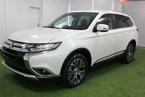 2015 Mitsubishi Outlander ZK MY16 LS 4WD White 6 Speed Constant Variable Wagon Burnie Burnie Area Preview
