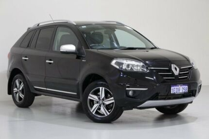 2014 Renault Koleos H45 Phase III Bose SE (4x2) Black Continuous Variable Wagon Bentley Canning Area Preview