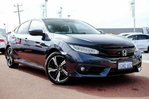 2016 Honda Civic 10th Gen MY16 RS Blue 1 Speed Constant Variable Sedan Osborne Park Stirling Area Preview