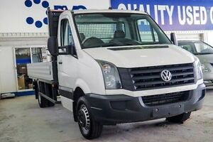 2014 Volkswagen Crafter 2FL2 MY15 50 LWB Tradie White 6 Speed Manual Cab Chassis Myaree Melville Area Preview