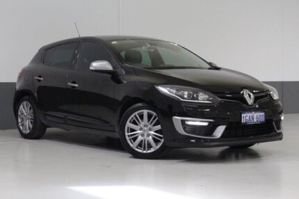 2016 Renault Megane B95 MY14 GT-Line Black 6 Speed Automatic Hatchback Bentley Canning Area Preview