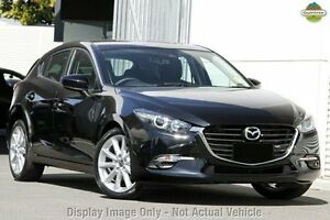 2016 Mazda 3 BN MY17 SP25 Jet Black 6 Speed Automatic Hatchback Liverpool Liverpool Area Preview