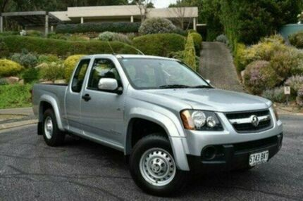 2011 Holden Colorado RC MY11 LX Space Cab Silver 4 Speed Automatic Utility