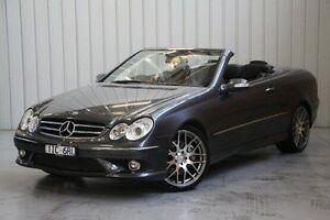 2009 Mercedes-Benz CLK280 A209 MY08 Avantgarde Grey 7 Speed Automatic Cabriolet Port Melbourne Port Phillip Preview