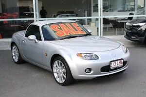 2008 Mazda MX-5 NC30F1 MY07 Roadster Coupe Silver 6 Speed Manual Hardtop Mount Gravatt Brisbane South East Preview
