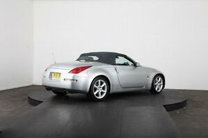 2003 Nissan 350Z Z33 Roadster Silver 6 Speed Manual Convertible McGraths Hill Hawkesbury Area Preview