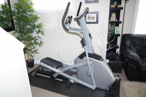 Vision Fitness X10 Elliptical Trainer w/ heart rate grips