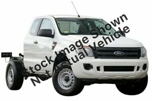 2014 Ford Ranger PX XL Super Cab 4x2 Hi-Rider White 6 Speed Sports Automatic Cab Chassis Enfield Port Adelaide Area Preview