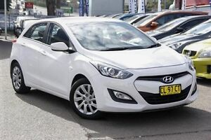 2013 Hyundai i30 GD Active White 6 Speed Sports Automatic Hatchback Kings Park Blacktown Area Preview