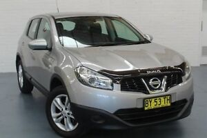 2013 Nissan Dualis J10W Series 4 MY13 ST Hatch X-tronic 2WD Silver 6 Speed Constant Variable Glendale Lake Macquarie Area Preview