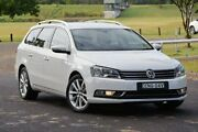 2013 Volkswagen Passat Type 3C MY13.5 130TDI DSG Highline White 6 Speed Sports Automatic Dual Clutch South Lismore Lismore Area Preview