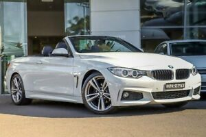 2014 BMW 420i F33 M Sport White 8 Speed Sports Automatic Convertible Kirrawee Sutherland Area Preview
