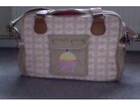 Pink Lining Baby Changing bag