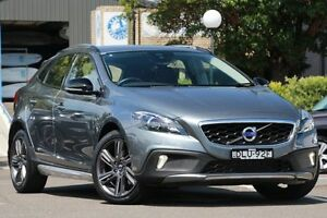 2016 Volvo V40 M MY16 D4 Luxury Cross Country Osmium Grey 6 Speed Automatic Geartronic Hatchback Dee Why Manly Area Preview