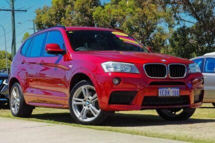 2013 BMW X3 F25 MY0413 xDrive20d Steptronic Red 8 Speed Automatic Wagon Wangara Wanneroo Area Preview