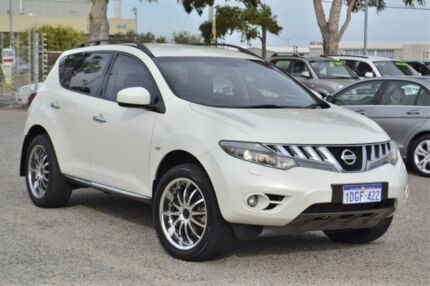 2010 Nissan Murano Z51 TI White 6 Speed Constant Variable Wagon Wangara Wanneroo Area Preview