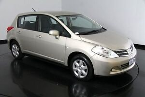 2012 Nissan Tiida C11 S3 ST Gold 6 Speed Manual Hatchback Victoria Park Victoria Park Area Preview