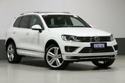 2015 Volkswagen Touareg 7P MY15 V8 TDI R-Line White 8 Speed Automatic Wagon Bentley Canning Area Preview
