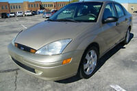 '01 Ford Focus ZTS ***PRICE REDUCED***