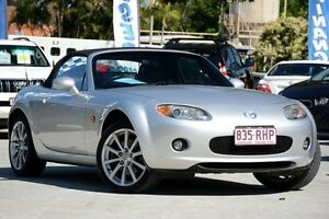 2006 Mazda MX-5 NC30F1 MY07 Roadster Coupe Silver 6 Speed Sports Automatic Softtop Moorooka Brisbane South West Preview