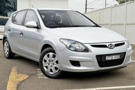 2011 Hyundai i30 FD MY11 SX Silver 5 Speed Manual Hatchback Gosford Gosford Area Preview