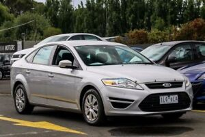 2012 Ford Mondeo MC LX PwrShift TDCi Silver 6 Speed Sports Automatic Dual Clutch Hatchback Ringwood East Maroondah Area Preview