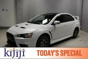 2015 Mitsubishi Lancer Evolution AWC EVOLUTION F.E Leather,  Hea