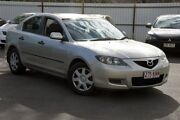 2007 Mazda 3 BK10F2 Neo Silver 4 Speed Sports Automatic Sedan Southport Gold Coast City Preview