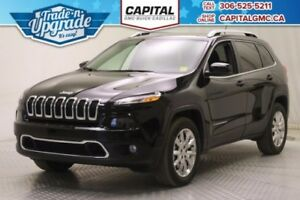 2017 Jeep Cherokee Limited 4WD *Leather-Sunroof-Heated Seats*