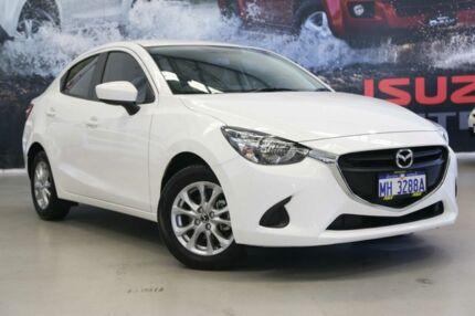 2016 Mazda 2 DL2SAA Maxx SKYACTIV-Drive White 6 Speed Sports Automatic Sedan Rockingham Rockingham Area Preview