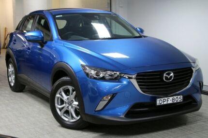 2016 Mazda CX-3 DK2W7A Maxx SKYACTIV-Drive Blue Mica 6 Speed Sports Automatic Wagon