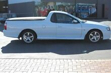 2006 Holden Commodore VZ MY06 White 4 Speed Automatic Utility South Maitland Maitland Area Preview