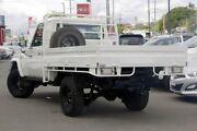 2013 Toyota Landcruiser VDJ79R MY13 Workmate White 5 Speed Manual Cab Chassis Mount Gravatt Brisbane South East Preview