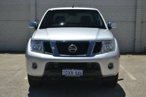 2012 Nissan Navara D40 S5 MY12 ST-X Silver 7 Speed Sports Automatic Utility