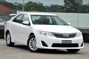 2015 Toyota Camry ASV50R Altise Diamond White 6 Speed Automatic Sedan Old Guildford Fairfield Area Preview