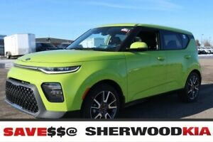 2020 Kia Soul AT EX PREMIUM LEATHER SEATS, PANORAMIC SUNROOF, RE