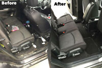 Car interior detailing from $60