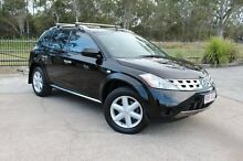 2008 Nissan Murano Z50 TI Black 6 Speed Constant Variable Wagon Capalaba West Brisbane South East Preview