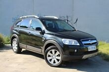2008 Holden Captiva CG MY08 LX AWD Black 5 Speed Sports Automatic Wagon Derwent Park Glenorchy Area Preview